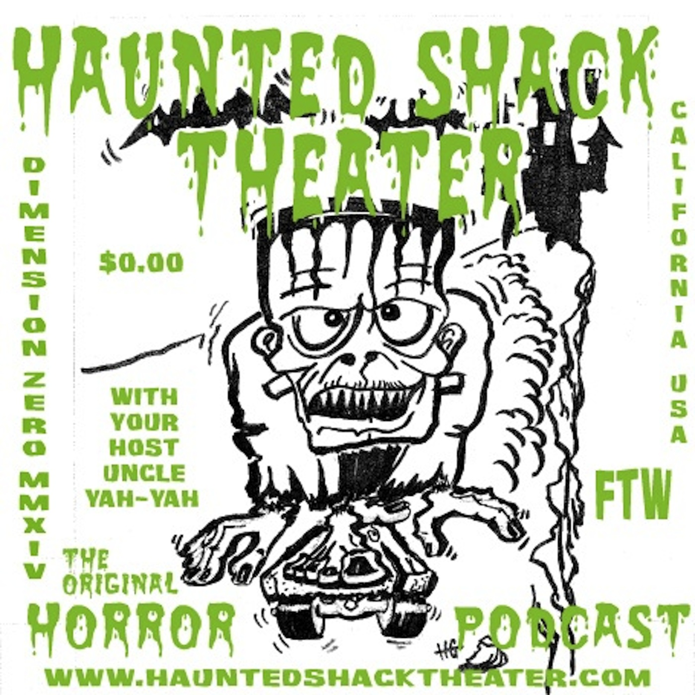 Podcast – Haunted Shack Theater (mp3)